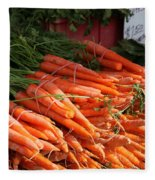 Carrot Bounty Fleece Blanket