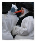 Carrot Nose 2 Fleece Blanket