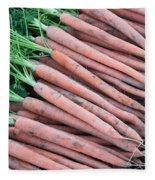 Carrots, Harvest Fleece Blanket