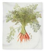 Carrots Fleece Blanket
