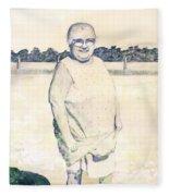 Carrying Eggs Fleece Blanket