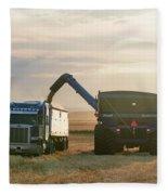 Cart Into Truck Fleece Blanket