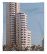 Cartagena Towers Fleece Blanket