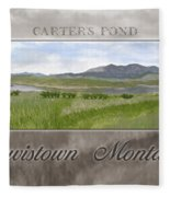 Carter's Pond Fleece Blanket
