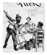 Cartoon: Anarchist, 1893 Fleece Blanket