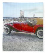 Cartoon Car Fleece Blanket
