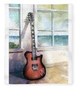 Carvin Electric Guitar Fleece Blanket