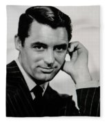Cary Grant Fleece Blanket