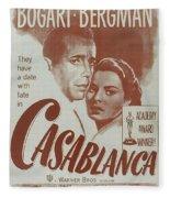 Casablanca Fleece Blanket
