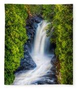 Cascade - Lower Falls Fleece Blanket