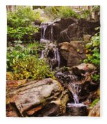 Cascades N Pool Fleece Blanket