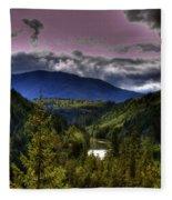Cascades View Fleece Blanket