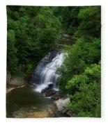 Cascadilla Waterfalls Cornell University Ithaca New York 02 Fleece Blanket
