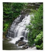 Cascadilla Waterfalls Cornell University Ithaca New York 03 Fleece Blanket