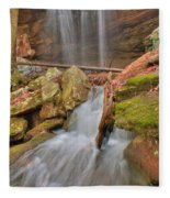 Cascading Waterfall Fleece Blanket