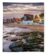 Cascais Beach Fleece Blanket