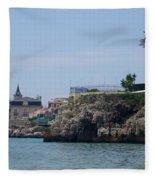 Cascais, Portugal, From Conceicao Beach Fleece Blanket