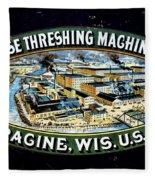 Case Threshing Machine Co Fleece Blanket