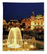 Casino De Monte Carlo-circa 2005 Fleece Blanket