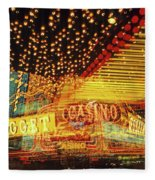 Casino Fleece Blanket