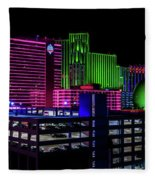 Casinos Fleece Blanket