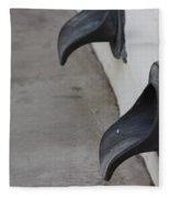 Cast Iron Rain Spouts In Stucco Building Photograph By Colleen Fleece Blanket