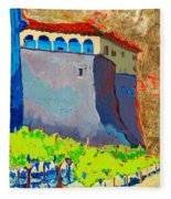 Castello Di Villafranca Fleece Blanket