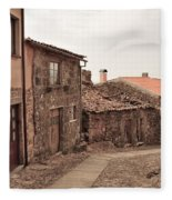 Castelo Rodrigo  Fleece Blanket