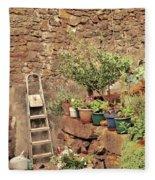Castelo Rodrigo Garden Fleece Blanket