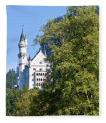 Castle 4 Fleece Blanket