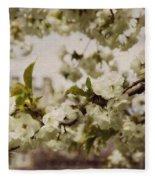 Castle Blossoms Fleece Blanket