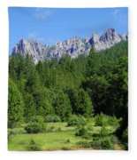 Castle Crags Fleece Blanket