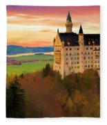 Castle Dawn Fleece Blanket