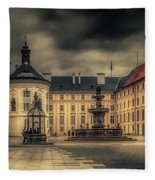 Castle Hill In Color Fleece Blanket