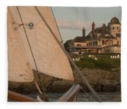 Castle Hill Fleece Blanket