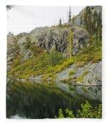 Castle Lake  Fleece Blanket
