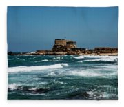 Castle Of Herod The Great Fleece Blanket