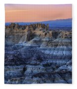 Castle Rock Sunset Fleece Blanket