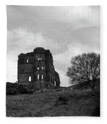 Castle Ruin Fleece Blanket