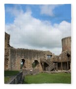 Castle Ruins Fleece Blanket