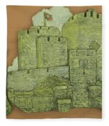 Castle Rushen Fleece Blanket
