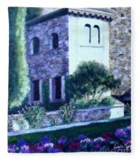 Castle Sestri Levante Fleece Blanket