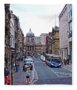 Castle Street - Liverpool Fleece Blanket