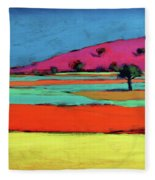 Castlemorton V  Fleece Blanket