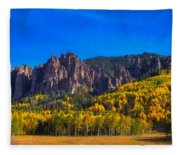 Castles Fleece Blanket