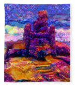 Castles In The Sand Cs-1a Fleece Blanket