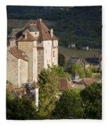 Castles Of Curemonte Fleece Blanket
