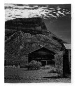 Castolon Ghost Town Fleece Blanket
