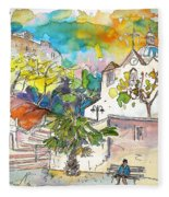 Castro Marim Portugal 13 Fleece Blanket