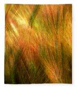 Cat Tails Fleece Blanket